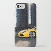 lamborghini iPhone & iPod Cases featuring Lamborghini by Speed-Photos