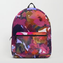 Poppy Patch Tapestry Backpack