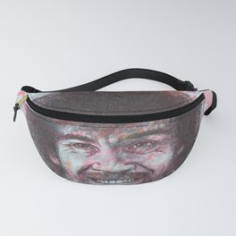 Bob Ross - Just Happy Little Accidents Fanny Pack