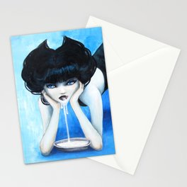 Selina the Cat Girl Stationery Cards