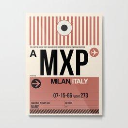 MXP Milan Luggage Tag 1 Metal Print