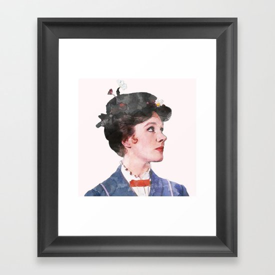Mary Poppins - Watercolor by classicmovieart