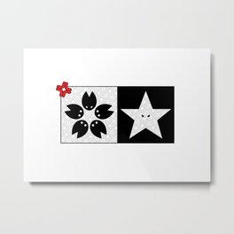 Sakura X Star Metal Print