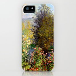 "Claude Monet ""Corner of the Garden at Montgeron"" iPhone Case"