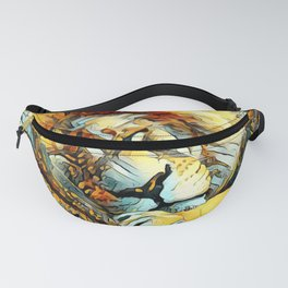 AnimalArt_Lion_20170604_by_JAMColorsSpecial Fanny Pack