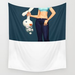 Carrot Top Girl Wall Tapestry