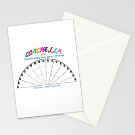Music and Arts Festival 2019 Stationery Cards