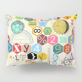 Math in color Pillow Sham