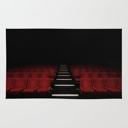 Red Theater Rug