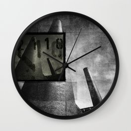 As cannons pointed at the sky Wall Clock