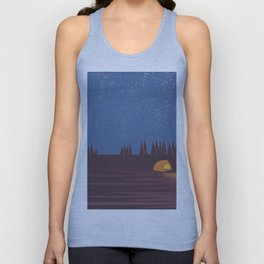 Camping under the Stars Unisex Tank Top