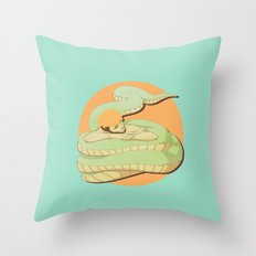 Naga Boy Throw Pillow
