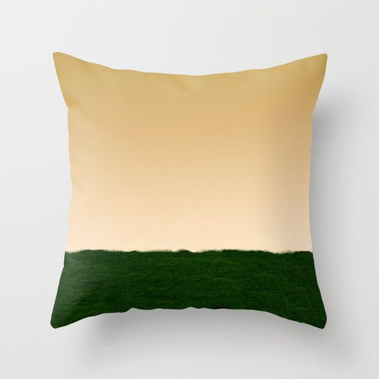 Everywhere and Nowhere Throw Pillow