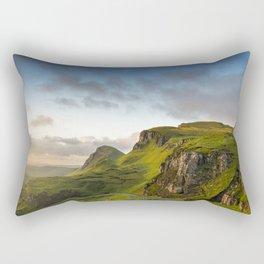 The Quiraing at Sunrise Rectangular Pillow
