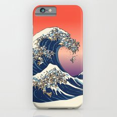 The Great Wave of English Bulldog iPhone 6 Slim Case