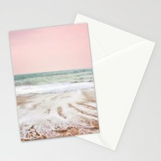 Pink as the ocean Stationery Cards