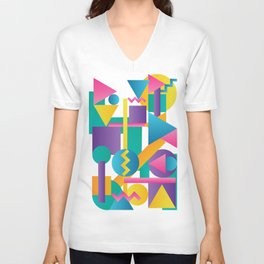 Shapes & Colours Unisex V-Neck