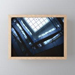 Stairwell Framed Mini Art Print