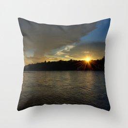so let the light shine!  Throw Pillow