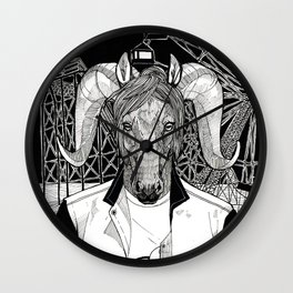 The Cryptids - The Jersey Devil Wall Clock