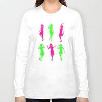 golden girls Long Sleeve T-shirts featuring Girls by Derek Eads