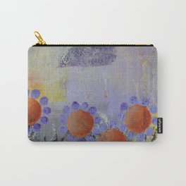Cheery Flowers Abstract Carry-All Pouch