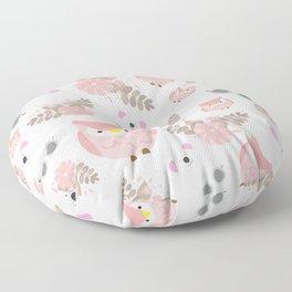 Pink Cuties Floor Pillow
