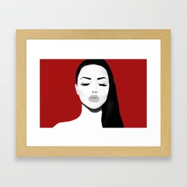 SuperModel Collection Framed Art Print