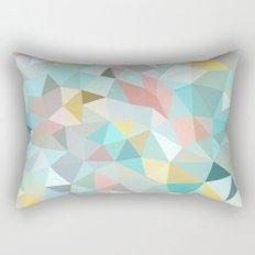 Pastel Tris Rectangular Pillow