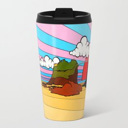 Newquay  Towan Beach Travel Mug