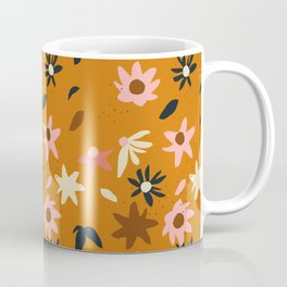 Fall flowers pattern Coffee Mug