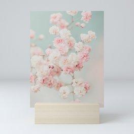 Gypsophila pink blush ll Mini Art Print