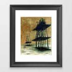 Yeryüzünde arta kalanlar Framed Art Print