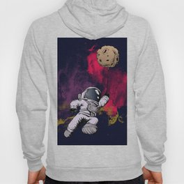 minimalist Astronaut Hoody