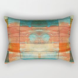 MidMod Art 5.0 Mirror Graffiti Rectangular Pillow