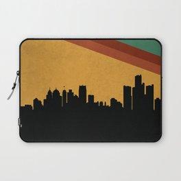 Detroit Skyline Laptop Sleeve