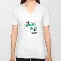 splash V-neck T-shirts featuring Splash by Gel Jamlang