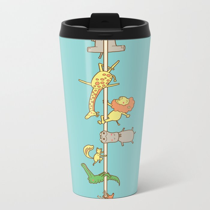 I love pole dancing Metal Travel Mug