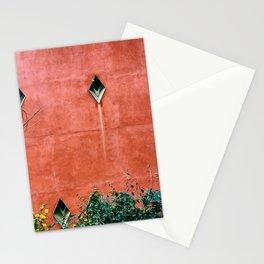 Clôture Orange Stationery Cards