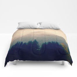 Only God Can Make a Tree Comforters