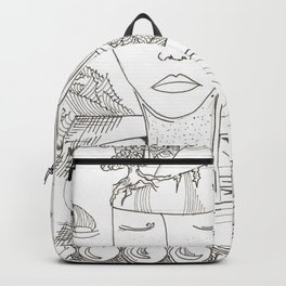 head mess Backpack