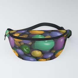 Mardi Gras Beads Fanny Pack