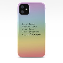 """choose love"" harry styles iPhone Case"