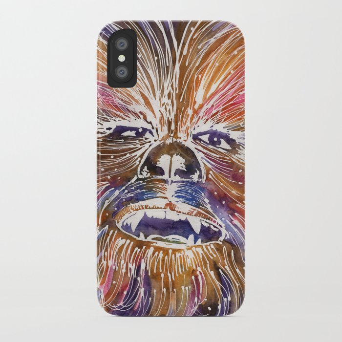 innovative design c82a2 12412 chewbacca iPhone Case by daydreamdaredevil