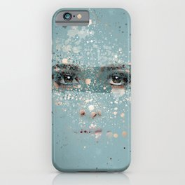 your eyes iPhone Case