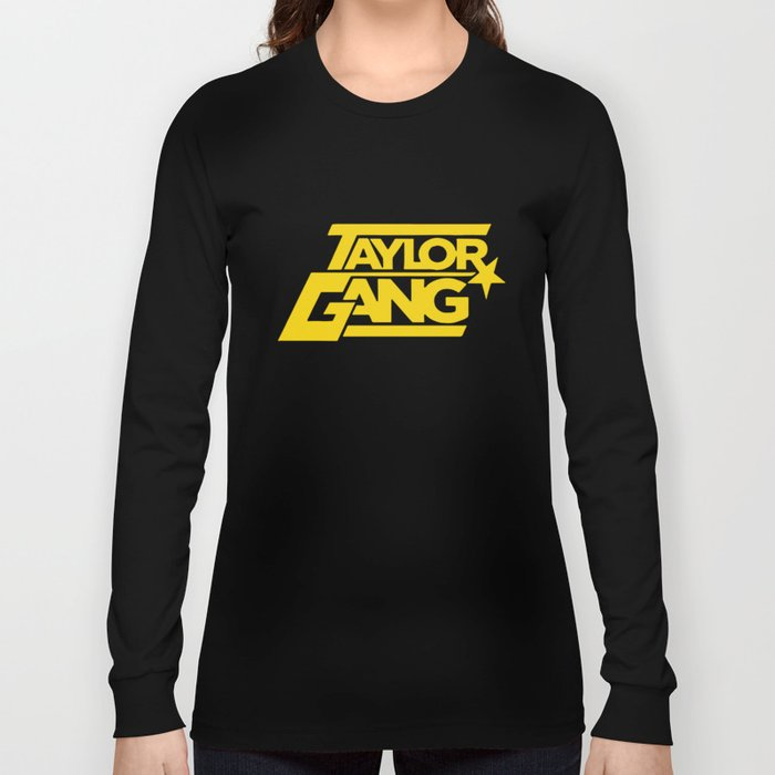 4ced91f92 Wiz Khalifa Taylor Gang Weed Squad Steelers Fob Star Hip Hop Squad T-Shirts  Long Sleeve T-shirt