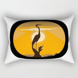 MIRANDO EL HORIZONTE Rectangular Pillow