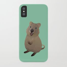 Quokka Polygon Art iPhone Case
