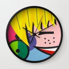 Little Blondie - Paint Wall Clock