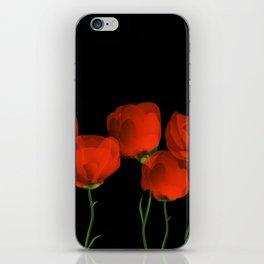 Poppy dance iPhone Skin